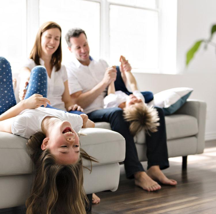 Sauberkeit im ganzen<span>Haus</span>