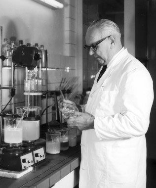 Forschung & Entwicklung in den 1950iger Jahren