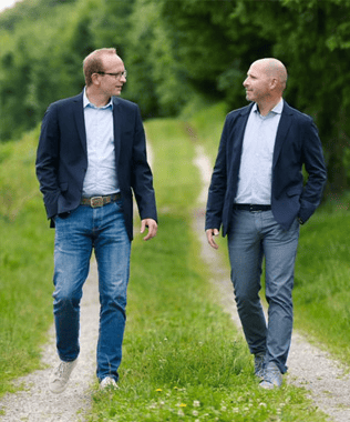 Thomas Firle (COO) und Marc T. Tümmers (CEO)